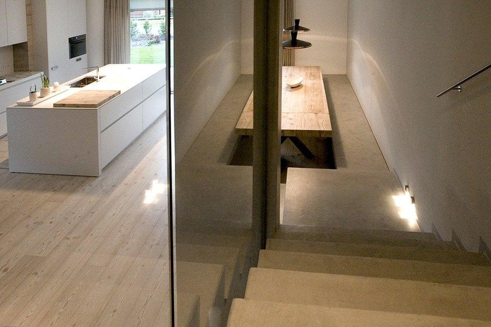 Scale in microcemento microtopping castelfranco veneto - Scale in cemento per interni ...