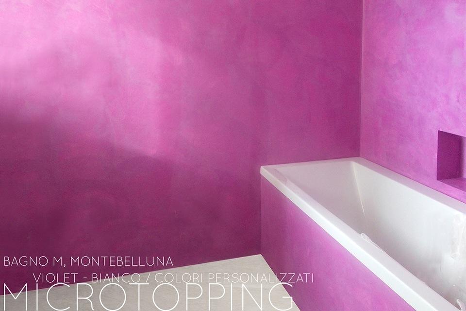 Bagno microcemento microtopping montebelluna lemiro srl - Arredo bagno montebelluna ...