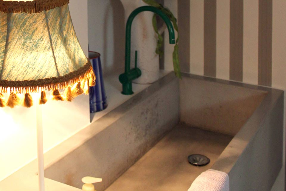 Lavabo in cemento | Concrete Design | Lemiro Srl