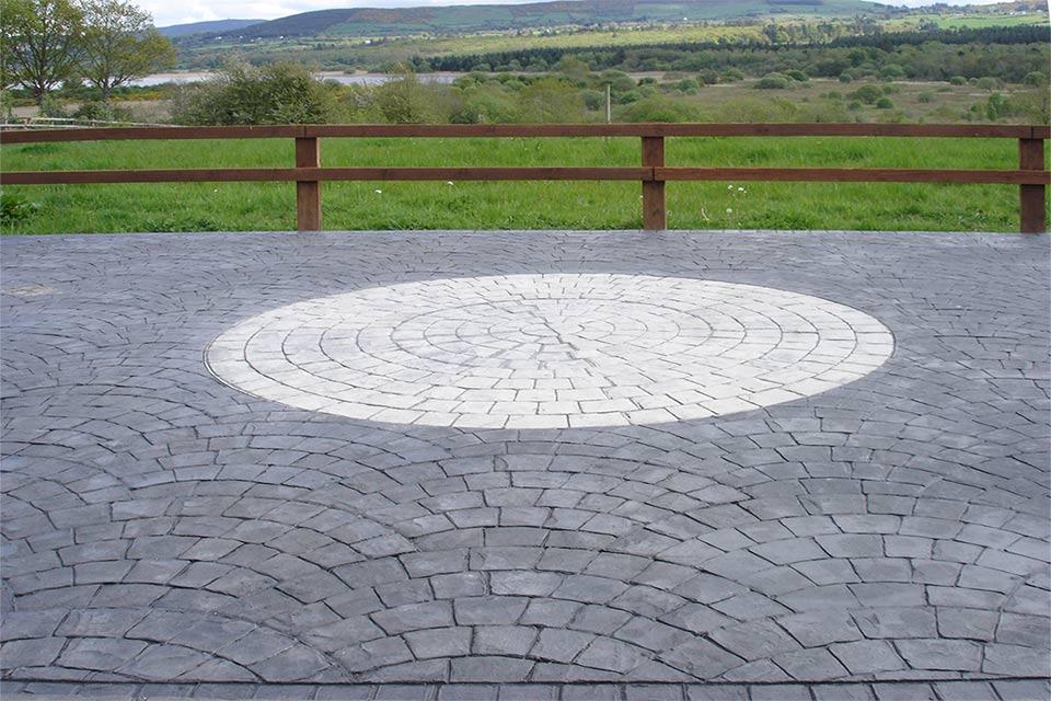 Pavimento Calcestruzzo Stampato : Pavimento stampato in cemento realizzato su misura edil pav